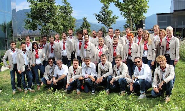 Die WorldSkills-Mannschaft und die Experten I