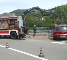 Unfall in Waidbruck