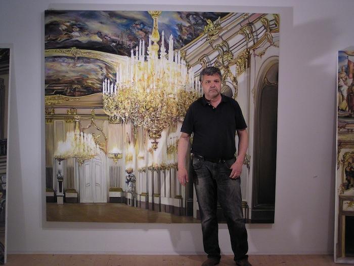 Ivo Mahlknecht in seinem Atelier: Ich will die Zeit ausblenden.