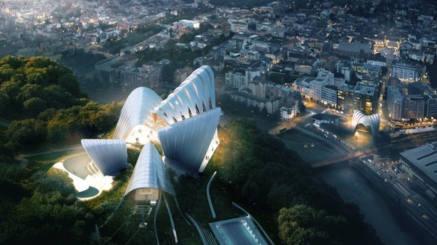 Das Projekt der Stararchitektin Zarah Hadid