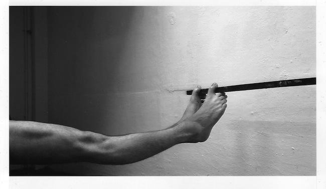 Annäherung an die Darstellung einer Kugelfläche (Foto: Fabian Feichter)