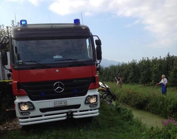 Bergung Traktor Feuerwehr