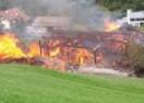 Großbrand in Gufidaun
