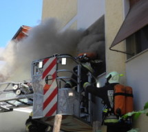 Wohnungsbrand in Leifers