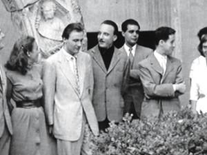 Demus mit Arturo Benedetti Michelangeli: Michelangeli war ein Mythos und näher hat ihn glaube ich niemand gekannt, vielleicht seine Frau, obwohl ich auch das bezweifeln möchte.