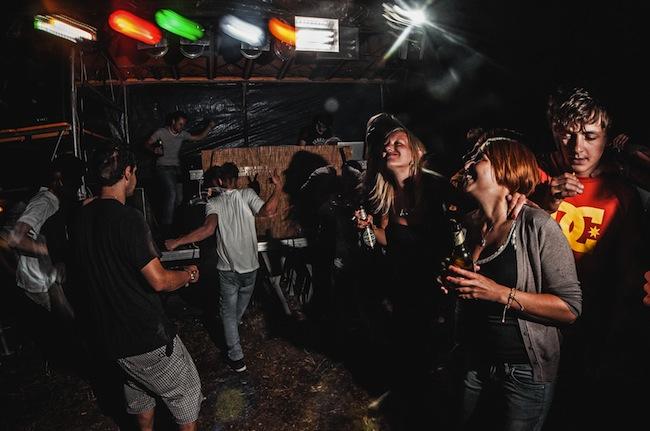 """Electric Mountain: Die Grauner Gruppe namens """"Graun Village People""""  wagt einen Schritt nach vorne (Foto: Lukas Larcher)"""