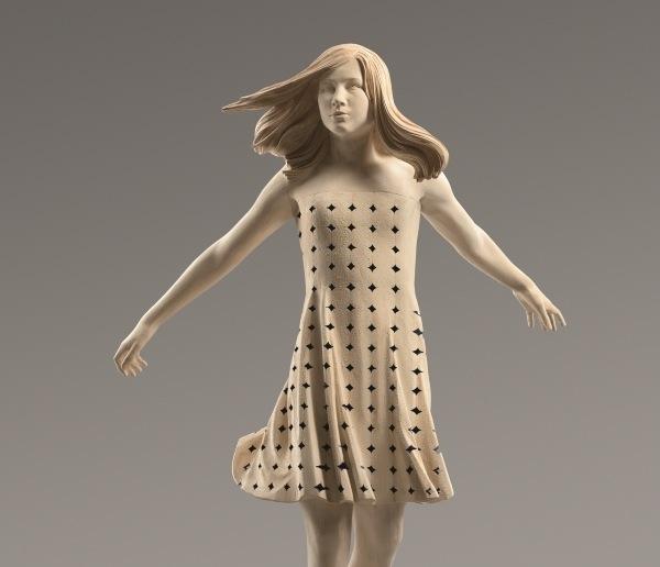 Skulptur von Matthias Kostner: Imponderabile