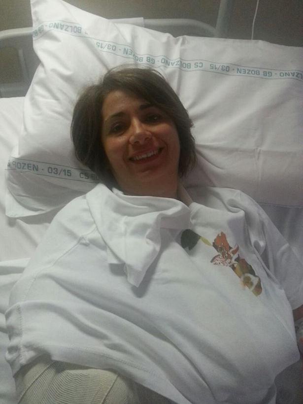 Lilliana Di Fede im Krankenhaus