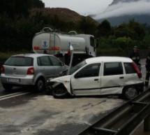 Crash in Eppan