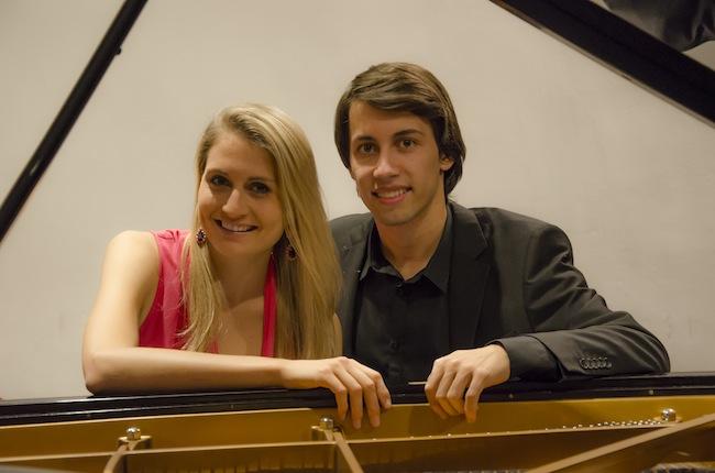 Rafaela Selhofer und Josef Haller: Ein vierhändiger Abend