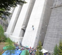 Das Staumauer-Klettern