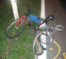 PKW rammt Radfahrer