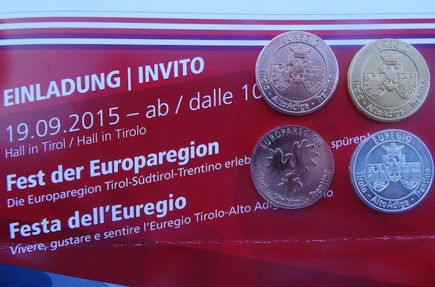 Alto Adige auf Einladung und Münzen