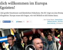 """""""A bisserl Solidarität"""""""