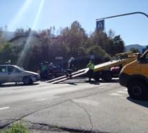 Crash in St. Lorenzen