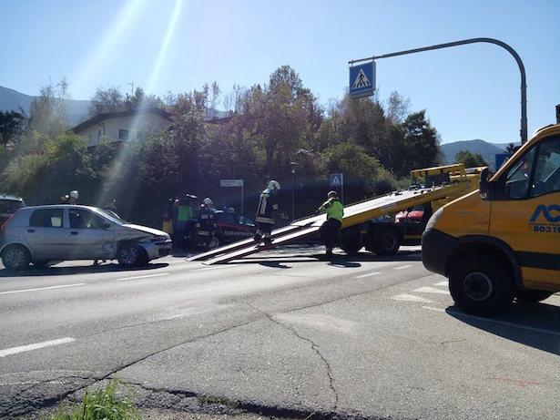 Unfall in St. Lorenzen (Fotos: FF ST. Lorenzen)
