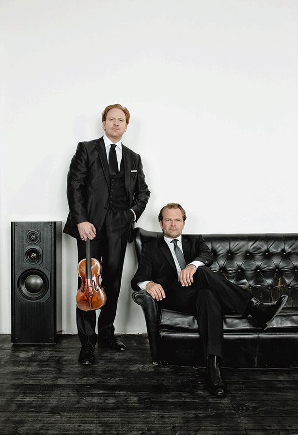 Daniel Hope und Sebastian Knauer: Auf dem Programm steht auch eine Uraufführung von Marcello Fera.