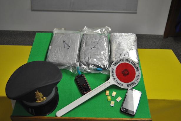 Beschlagnahmtes Kokain: Marktwert von 200.000 Euro