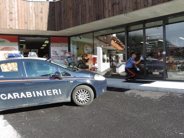 Einbruch in Antholz (Fotos: Carabinieri)