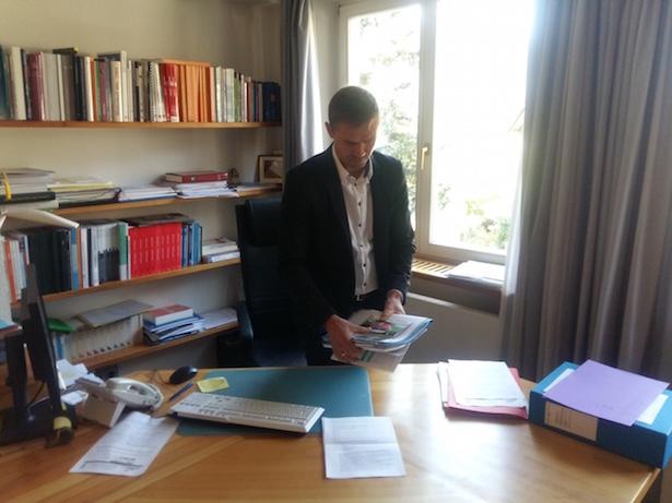 BM Peter Faistnauer räumt sein Büro