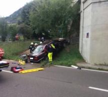 Unfall bei Mebo-Einfahrt