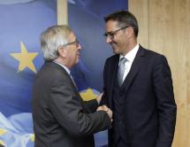 Gespräch mit Juncker