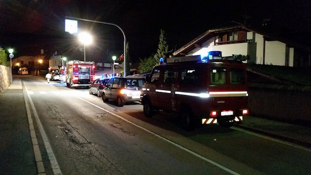 Balkonbrand in Eppan (Fotos: FF St. Michael/ Eppan)