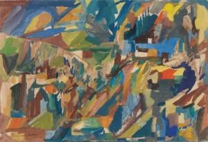 Malerei von Alois Kuperion: Viele haben es später bedauert, ihre Kuperion-Bilder achtlos weggeworfen zu haben.