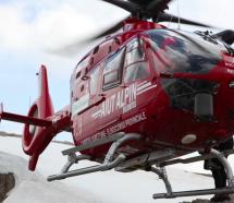 Schwerverletzter Skifahrer