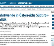 """""""Der Schutzmacht-Rolle entledigt"""""""