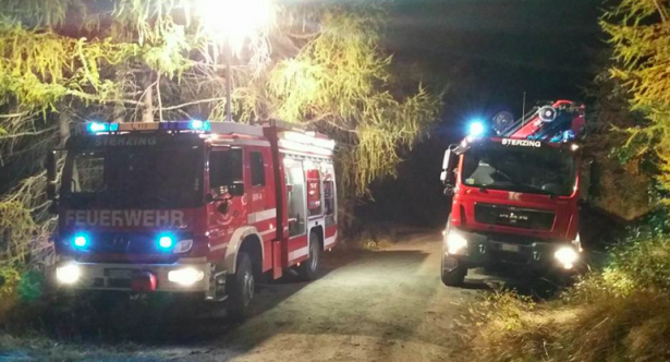 Der Einsatz der Feuerwehren in Mauls (Foto: FF Sterzing)