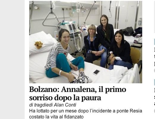 Screenshot Alto Adige Online