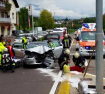 Crash auf Weinstraße