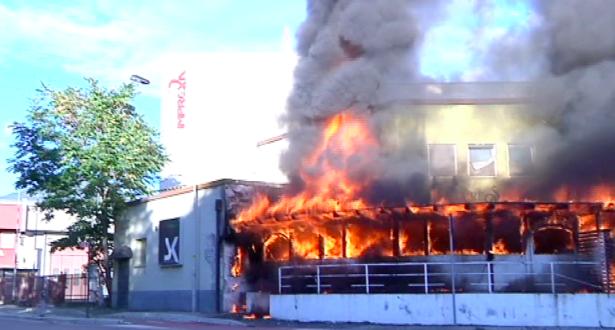 Der Brand (Foto: sdf)