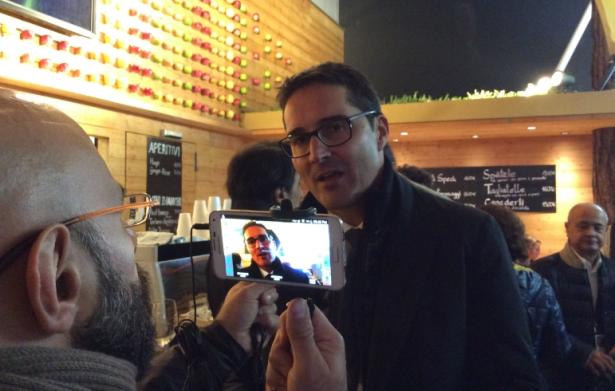 LH Arno Kompatscher auf der Expo-Abschlusspressekonferenz