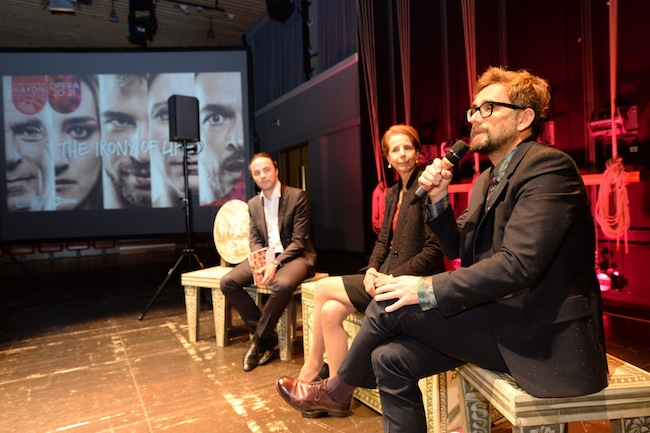 LR Philipp Achammer, Chiara Zanoni und Operndirektor Matthias Lošek: Das Budget wird wie ein Staatsgeheimnis behandelt.