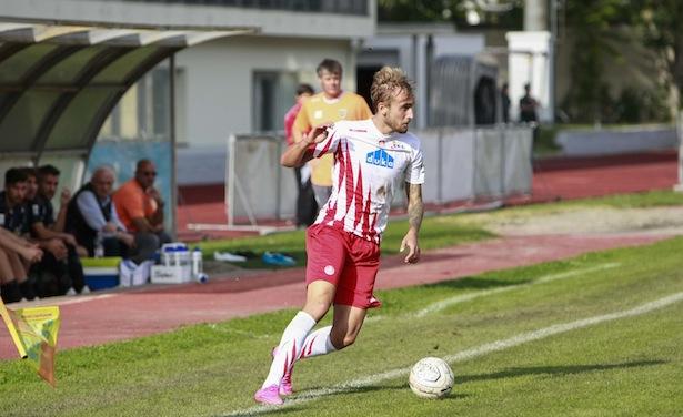 Fabian Tait in Aktion