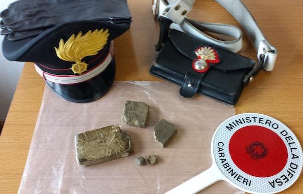 Das beschlagnahmte Haschisch (Foto: Carabinieri)