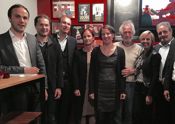 Ivo B Micheli Filmfestival - Eröffnungsfoto mit Politiker