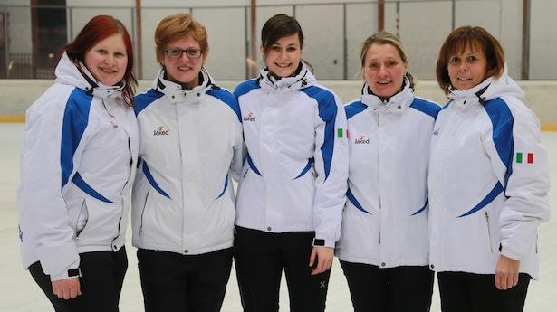Magdalena Karnutsch (Mölten), Sonja Musler (Eppan) Marion Huber (Stegen), Maria Mair am Tinkhof (Luttach), Maria Rassler (Eppan)