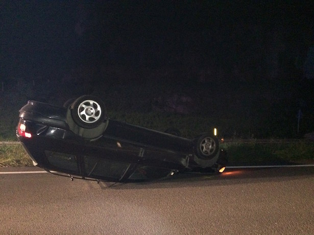 Unfall in Auer (Foto: FF Auer)