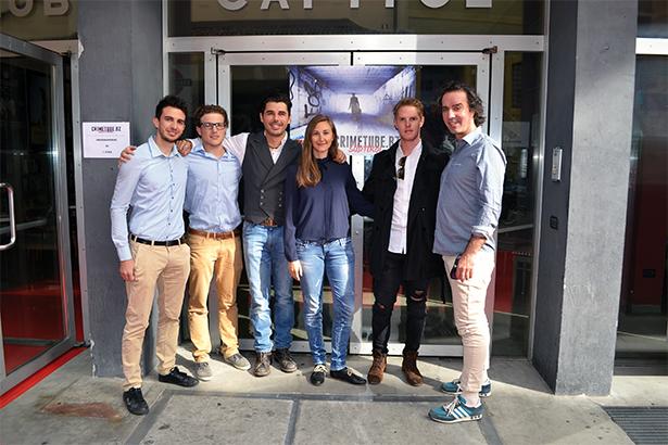 Diego Marangoni, Jakob Watschinger, Ricardo Angelini, Lissy Pernthaler, Andy Hartner und Carlo Emanuele Esposito: Warum sollte eine Webserie nicht auch in Südtirol klappen?
