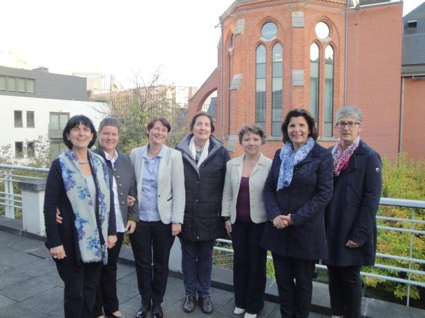 Delegation in Brüssel, angeführt von Landtagsabgeordneter Maria Hochgruber Kuenzer