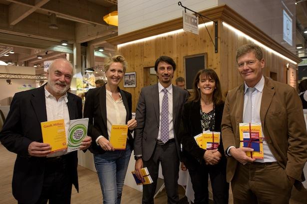 Uli Rubner und Marco Pappalardo mit Luigi Costa und Karl und Martina Hohenlohe (Foto: Martina Jaider/SMG)