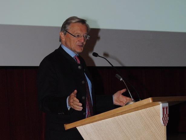 Gastredner Wolfgang Schüssel