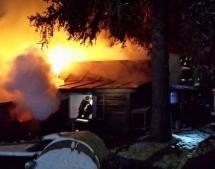 Ferienhäuser in Brand