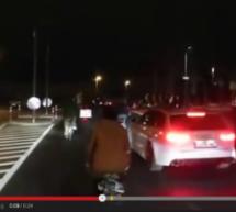 Autofahrer dreht durch
