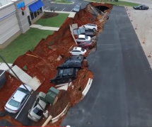 Verschluckte Autos