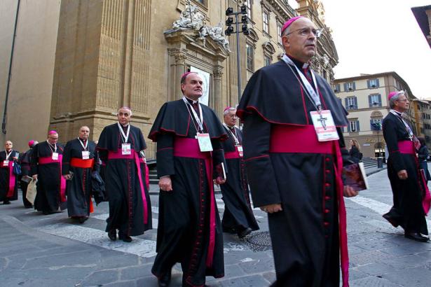 Bischof Ivo Muser in Florenz