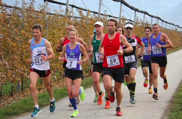 Der Halbmarathon in Frangart (Foto: running.bz.it)